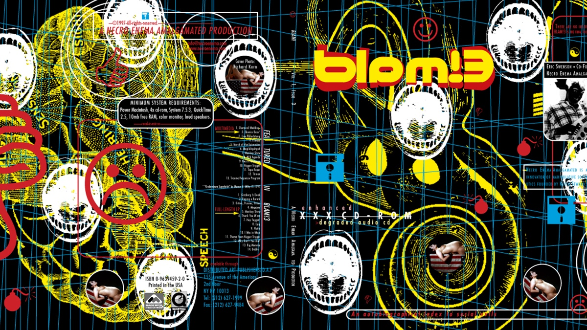 Cover of Necro Enema Amalgamated's BLAM! 3 CD-ROM