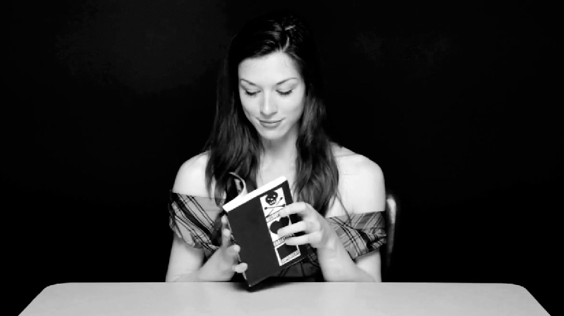 Stoya reading from Supervert's Necrophilia Variations