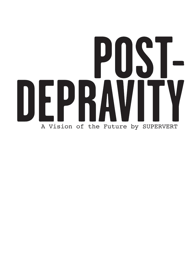 Post-Depravity cover
